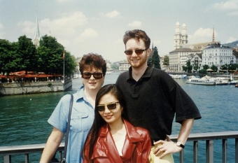 Maximina Brion in Zurich Switzerland 1996