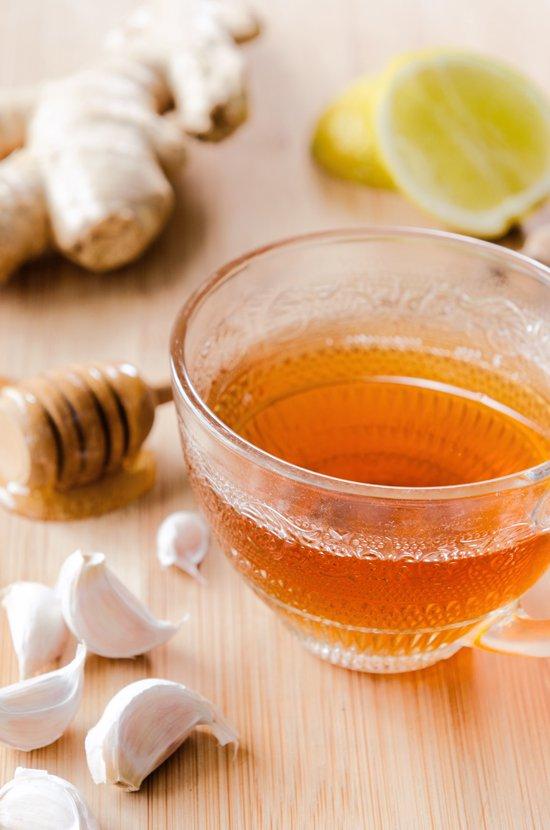 Garlic Ginger Lemon Tea