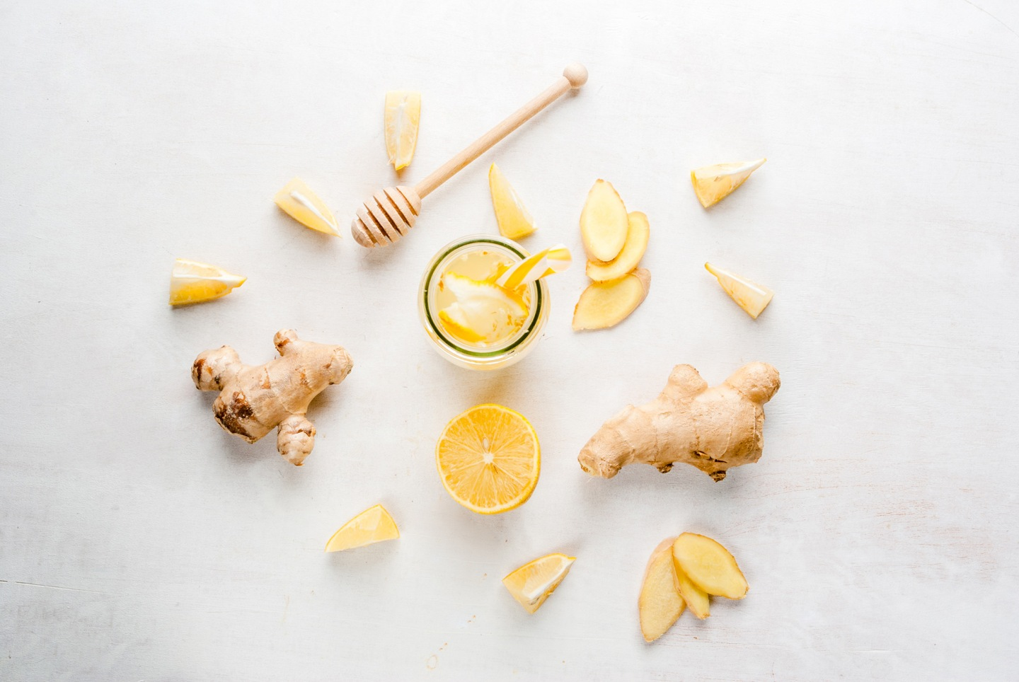 Ginger Lemon Garlic tea