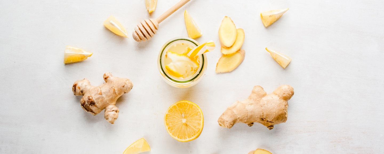 Ginger Lemon Garlic tea