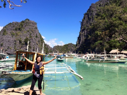 Maximina Brion in Coron Palawan