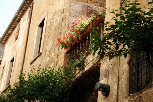 Orvieto Terrace Garden