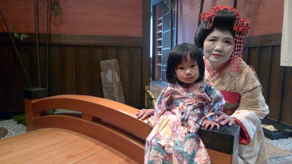 Geisha Maiko Kimono Makeover Kyoto Japan