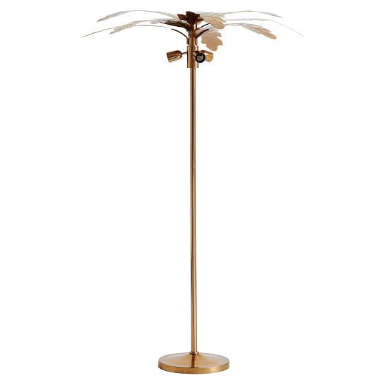 The Emily Meritt Palm Floor Lamp